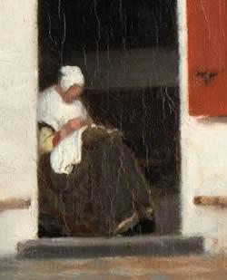 old-woman vermeer
